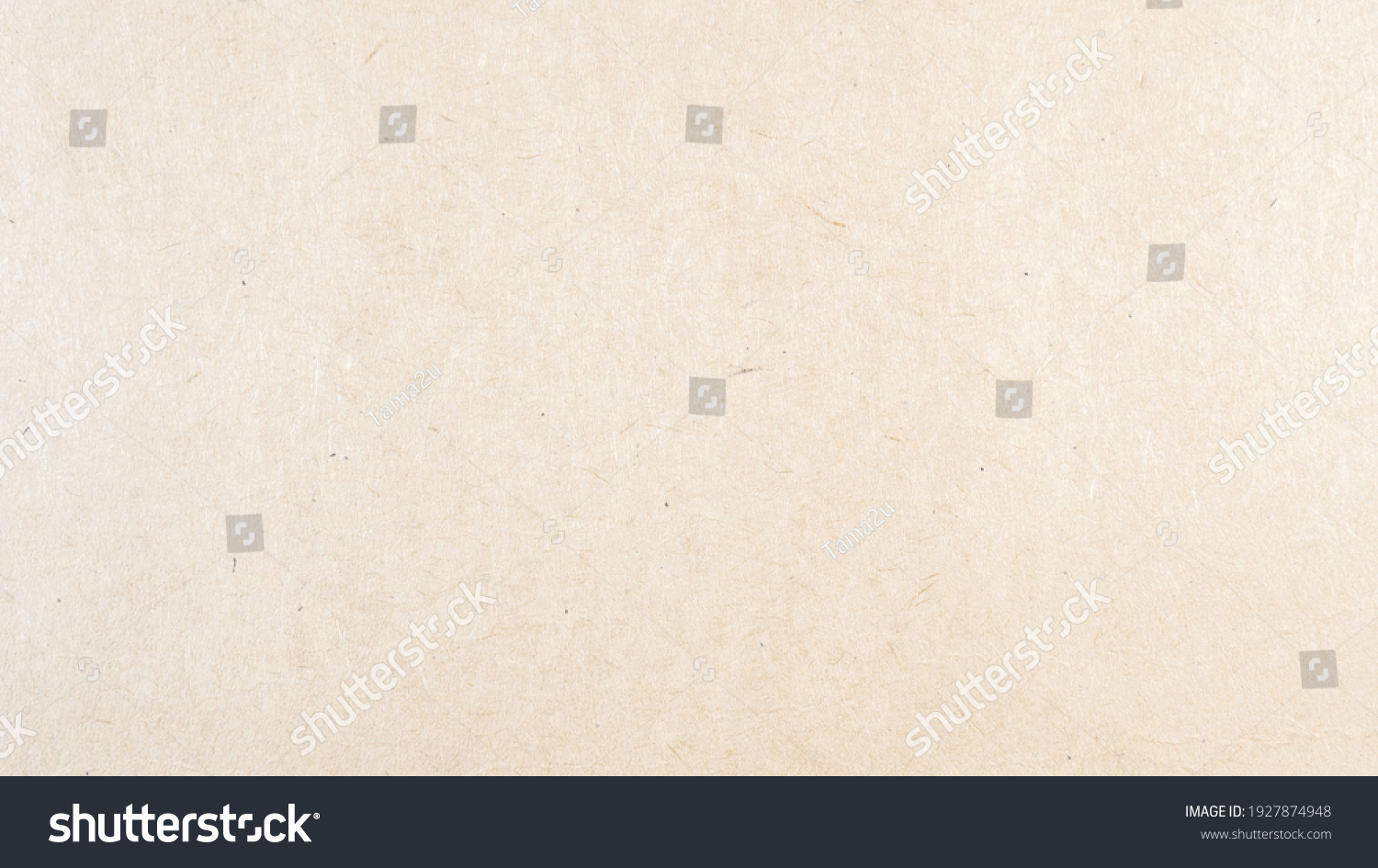 Abstract brown recycled paper texture background. Old Kraft paper box craft pattern. top view. #1927874948