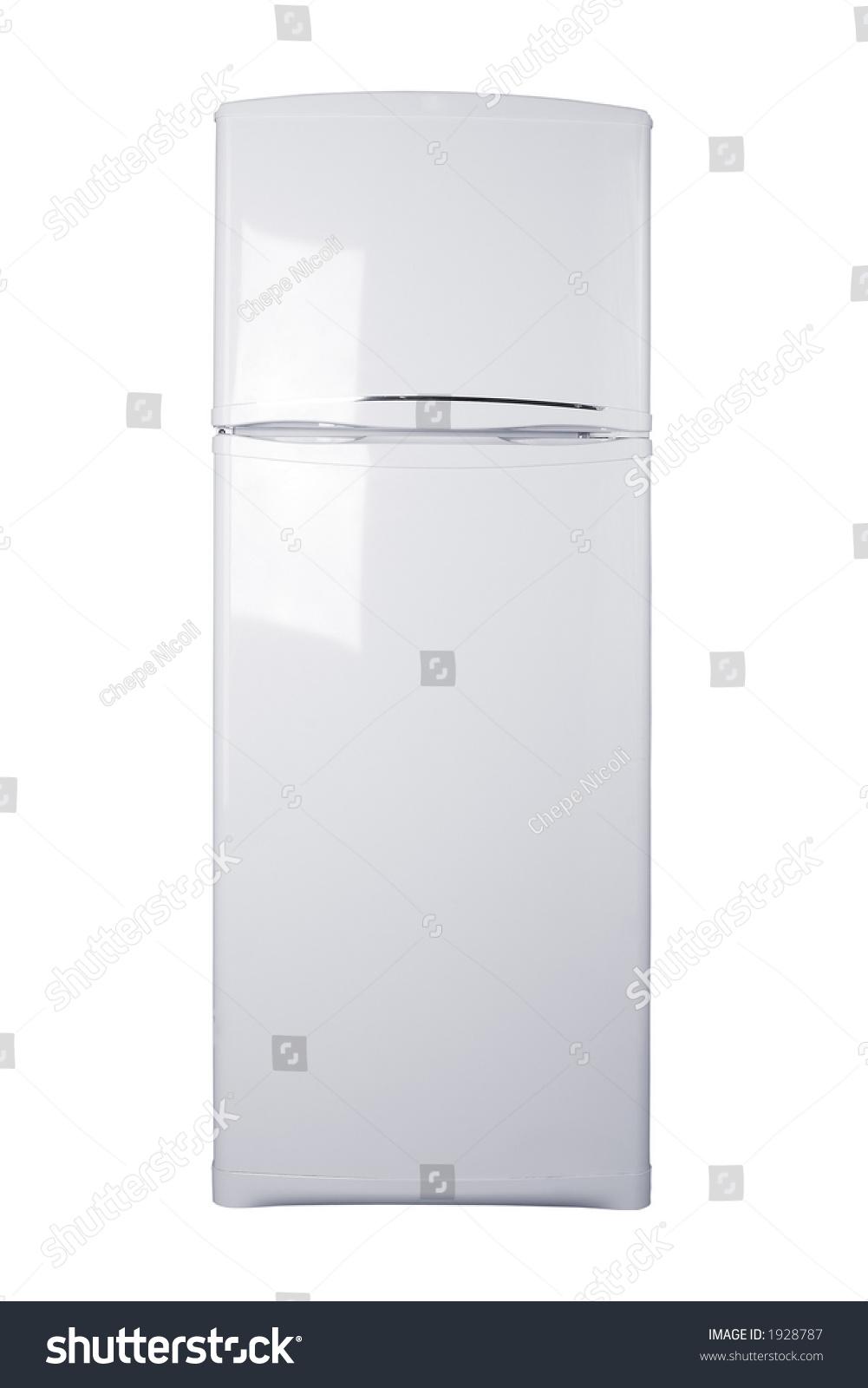 Small Refrigerator White Background Stock Photo 1928787