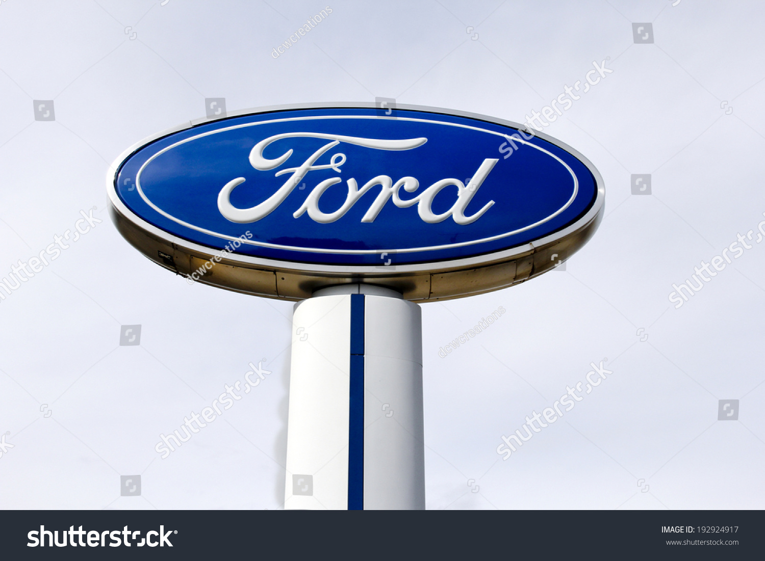 Spencer wisconsin may 15 2014 ford motor company sign for Ford motor company stock
