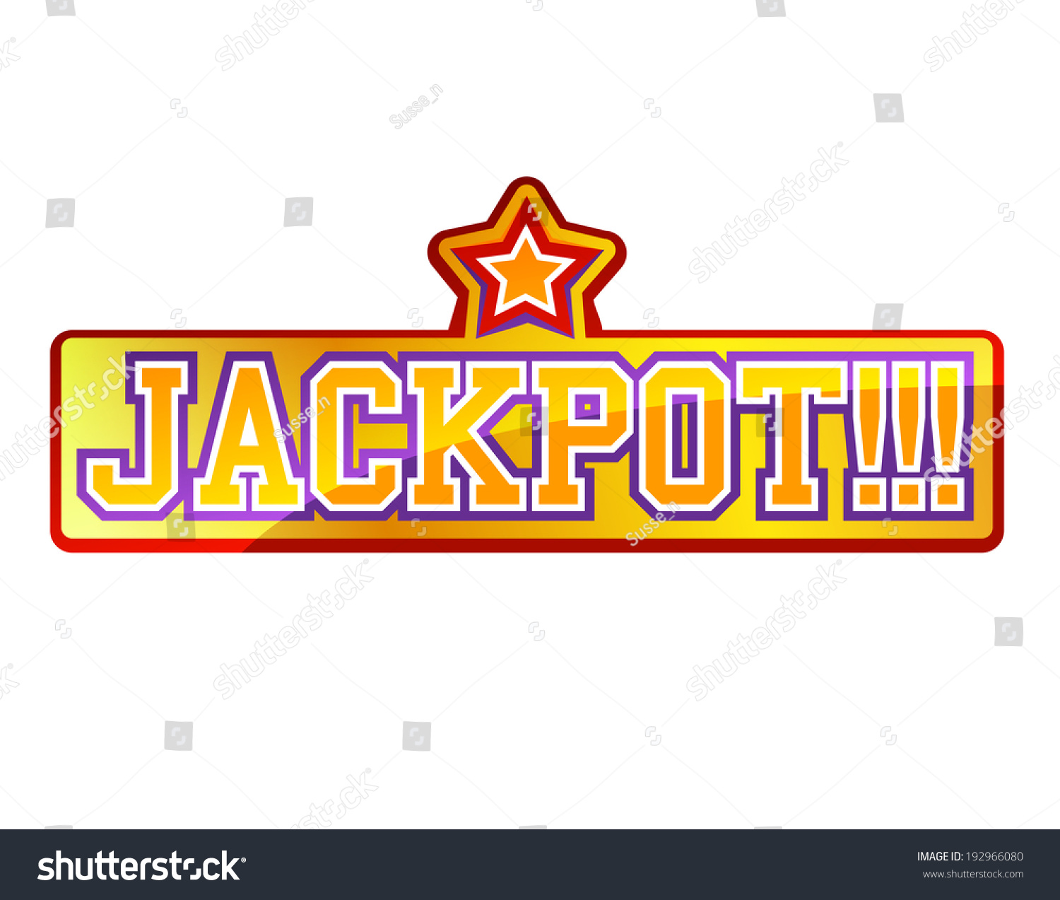 Related Keywords & Suggestions for jackpot sign