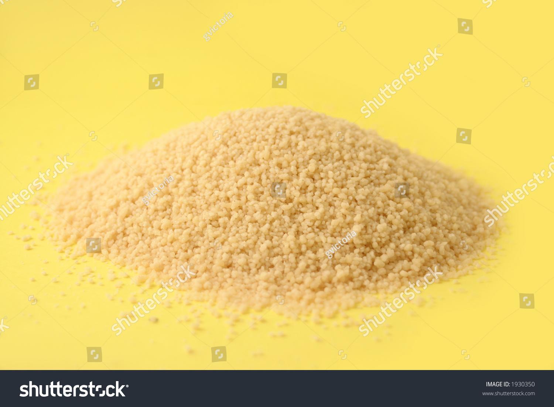 Whole Grain Uncooked Couscous Stock Photo 1930350 ...