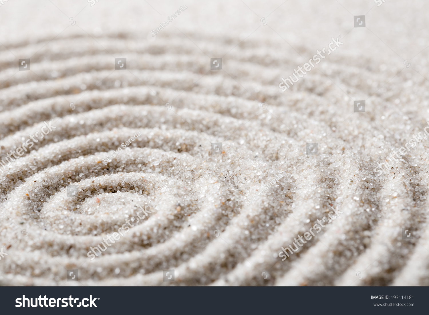 Japanese zen garden meditation concentration relaxation stock japanese zen garden meditation for concentration and relaxation sand circles in spiral for harmony and buycottarizona
