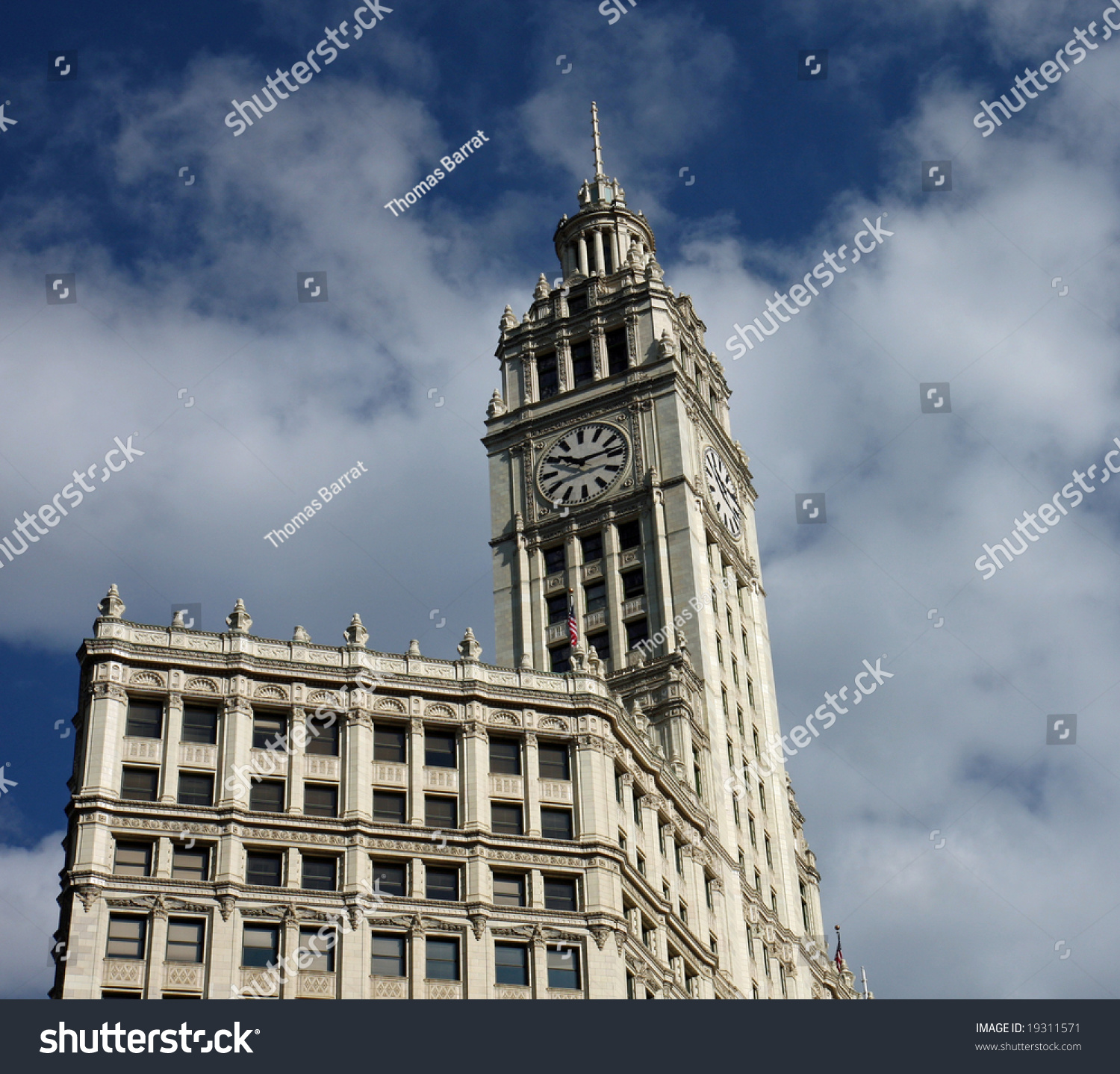 Wrigley building downtown chicago stock photo 19311571 shutterstock wrigley building in downtown chicago buycottarizona Images