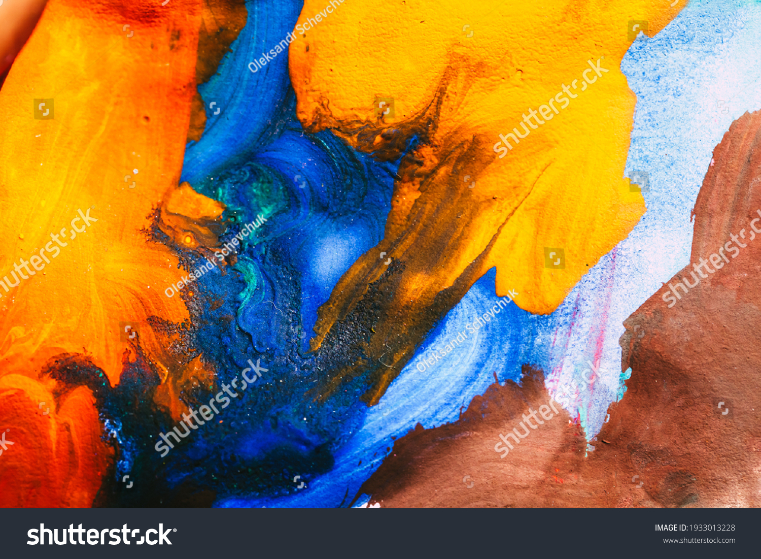 abstract oil paint texture on canvas, background #1933013228