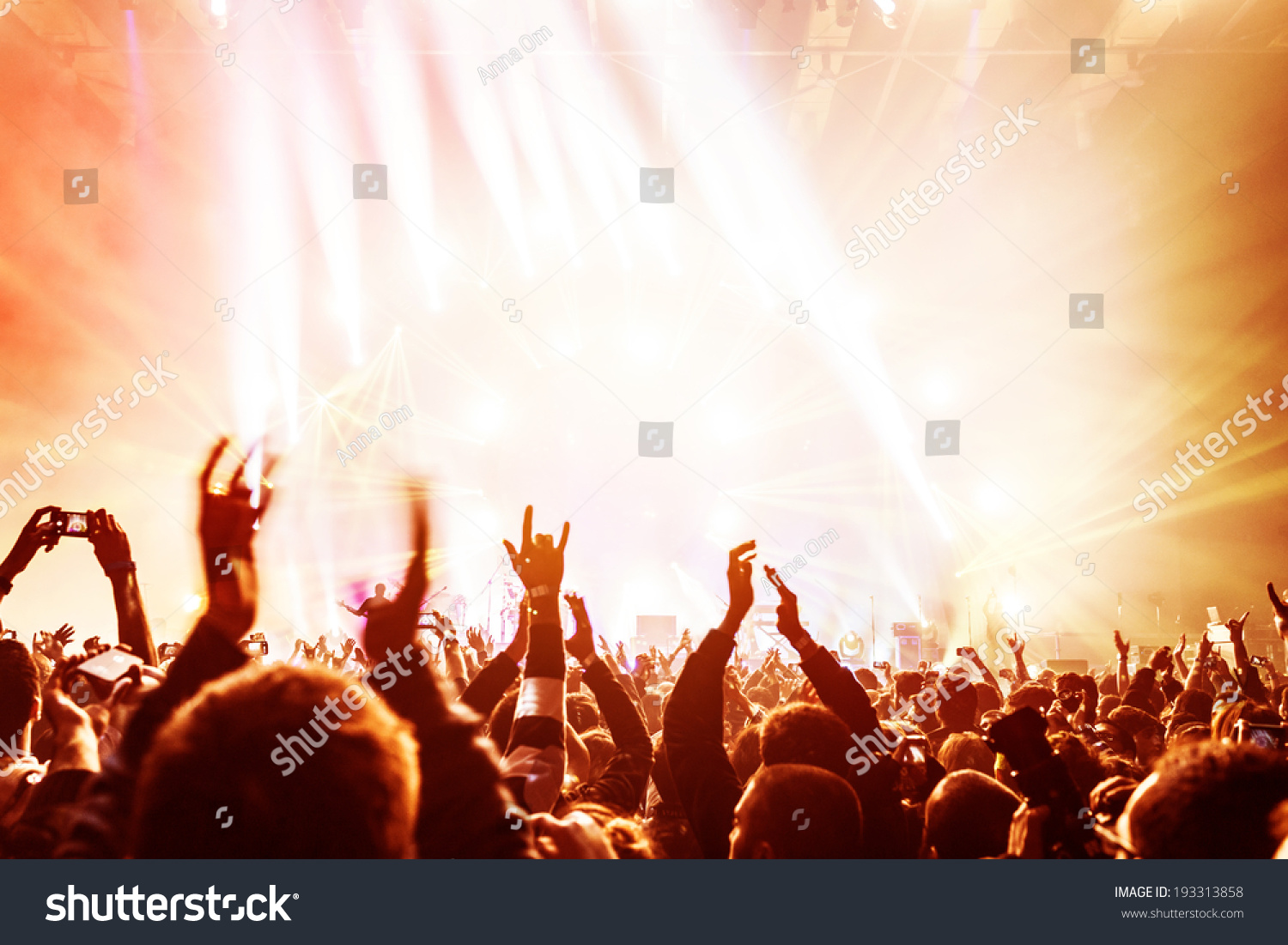 crowd enjoying concert happy people jumping stock photo 193313858 crowd enjoying concert happy people jumping large group celebrating new year holiday party