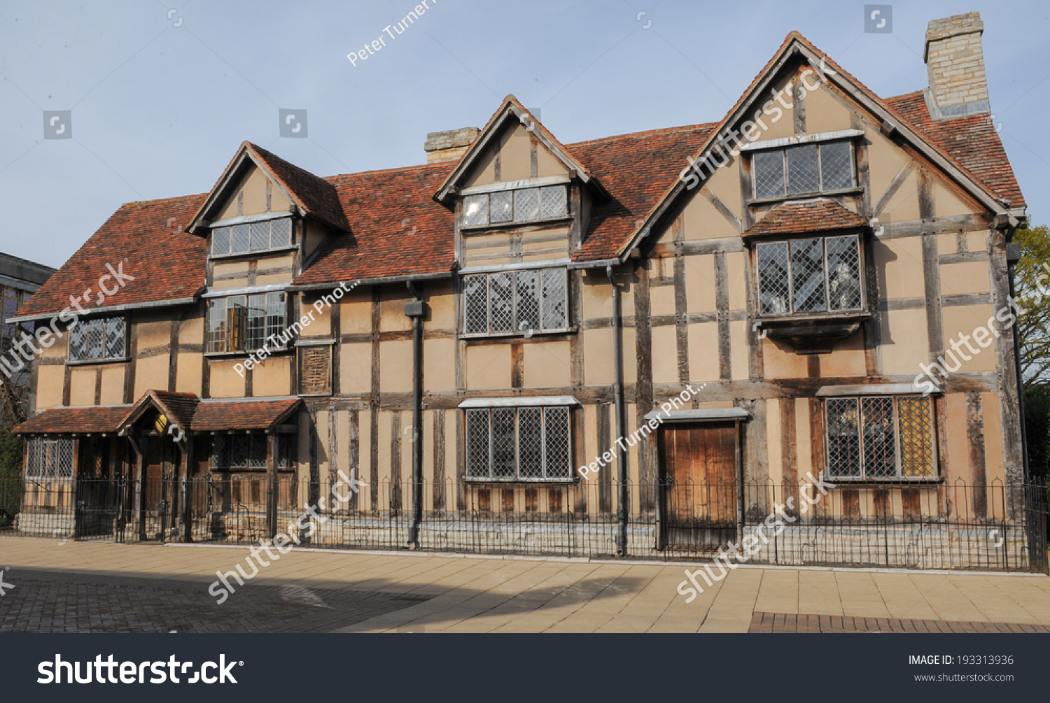 William Shakespeares Birthplace In Henley Street Stratford Upon
