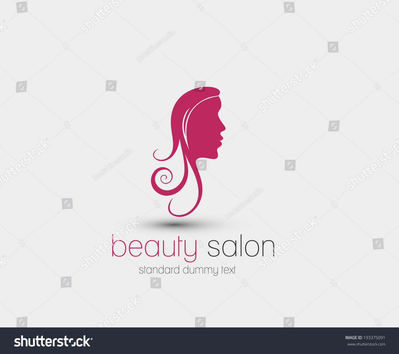 Symbol Beauty Salon Isolated Vector Design Stock Vector Royalty