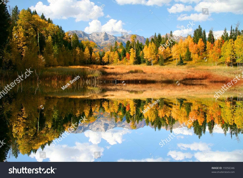 mountain meadow autumn above - photo #13