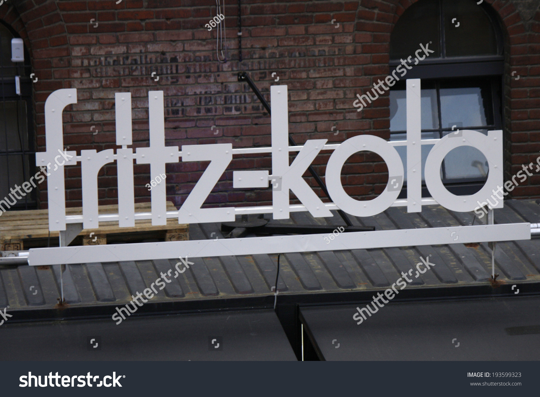 circa april 2014 berlin the logo of the brand fritz kola berlin stock photo 193599323. Black Bedroom Furniture Sets. Home Design Ideas