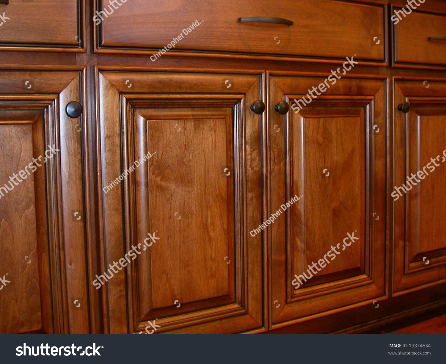 Kitchen cabinet doors stock photo 19374634 shutterstock for New kitchen cabinet doors