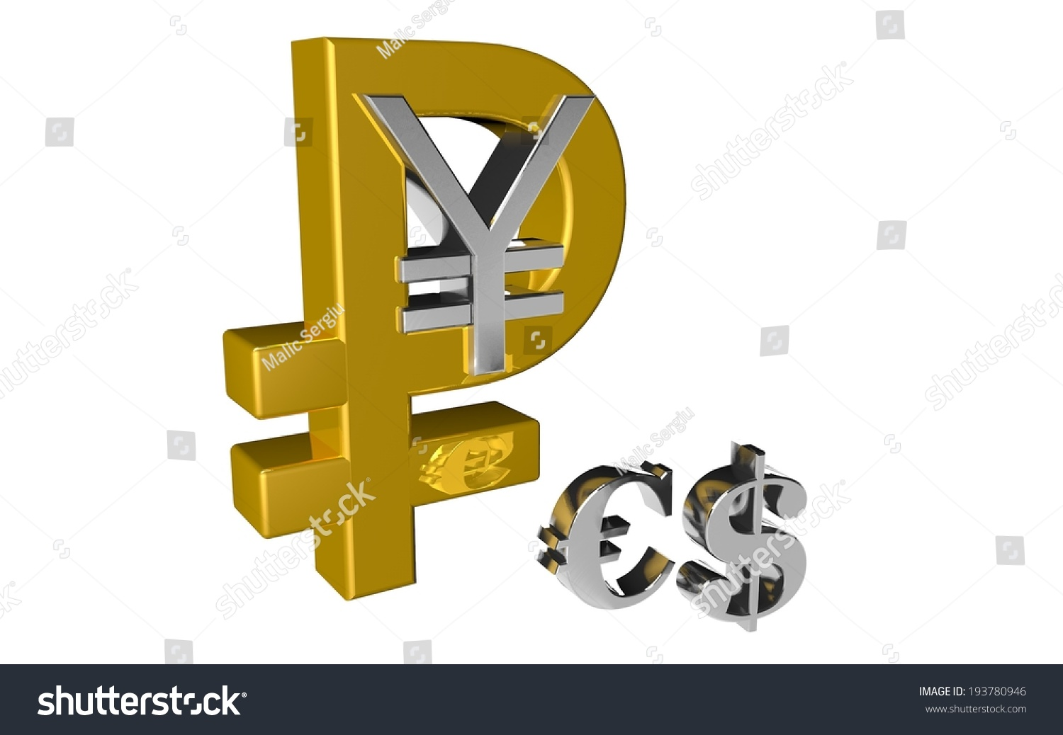 Russian ruble chinese yuan symbol country stock illustration russian ruble chinese yuan symbol the country and the money new currency financial gold silver biocorpaavc
