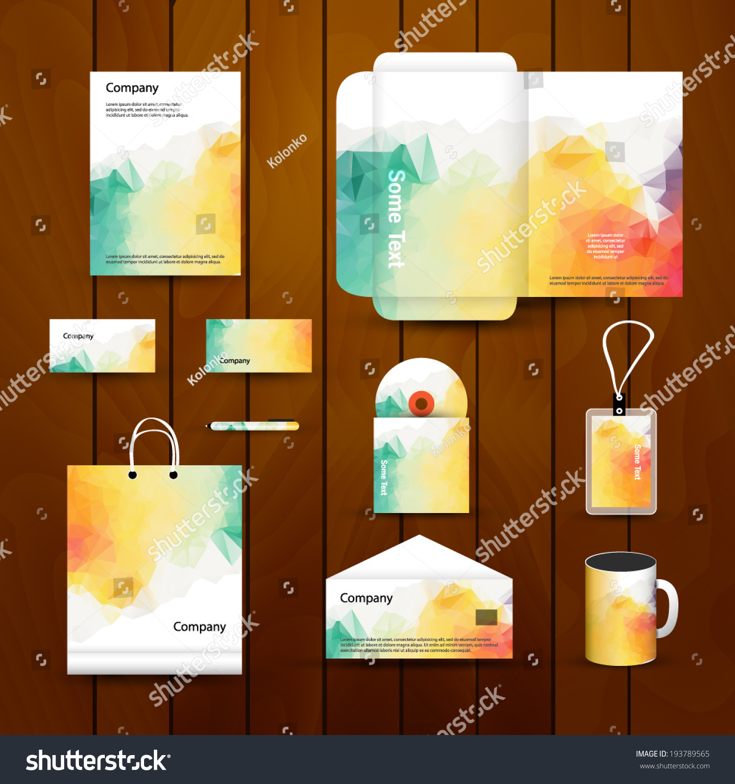 abstract corporate brand business identity design stock vector 193789565 shutterstock. Black Bedroom Furniture Sets. Home Design Ideas