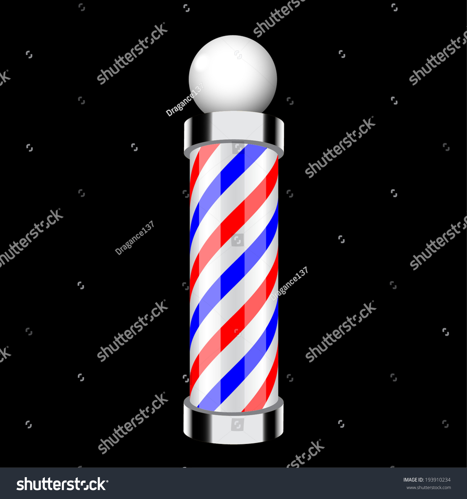 Barber pole своими руками 36