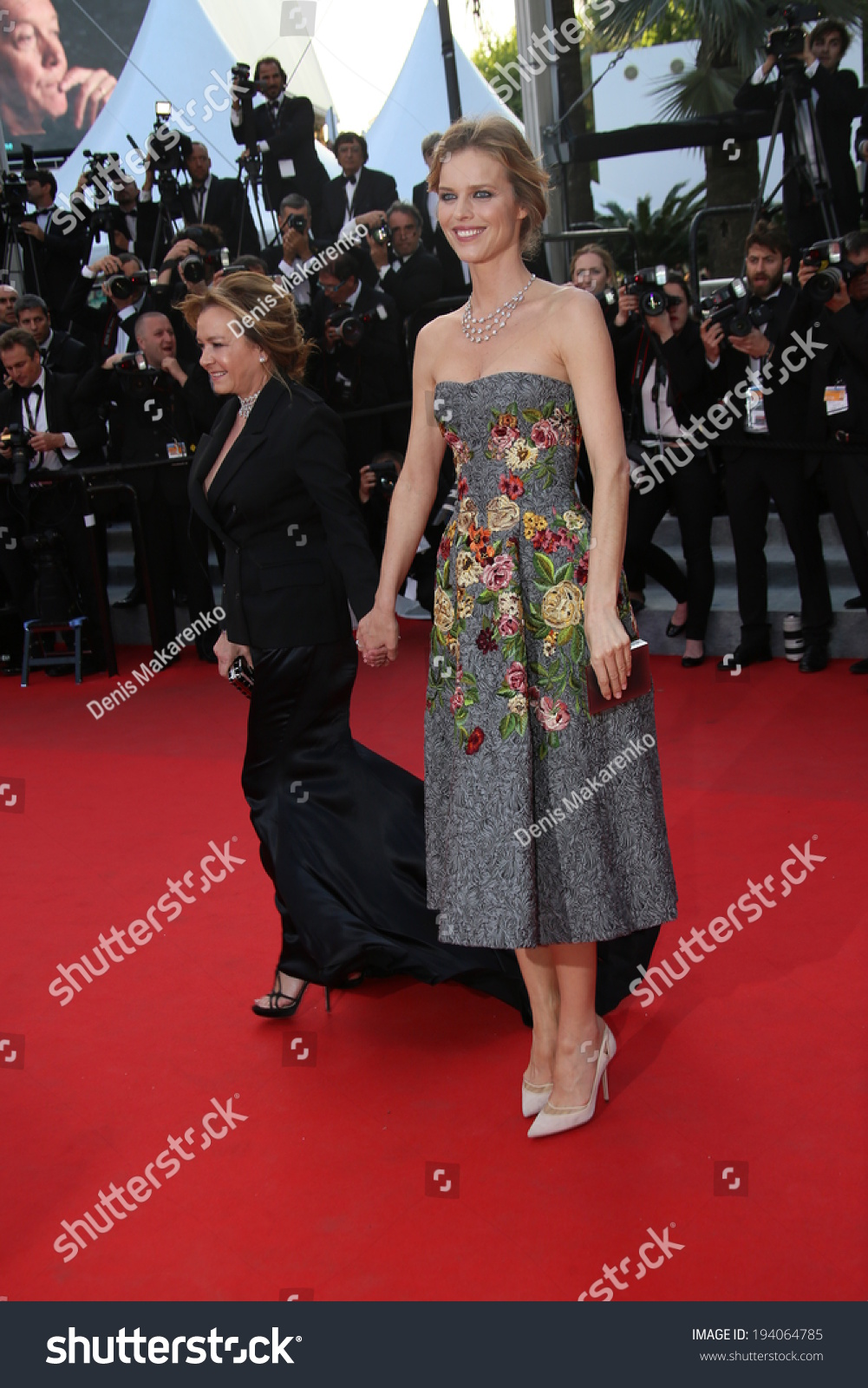 Cannes France May 20 Eva Herzigova Stock Photo Edit Now 194064785