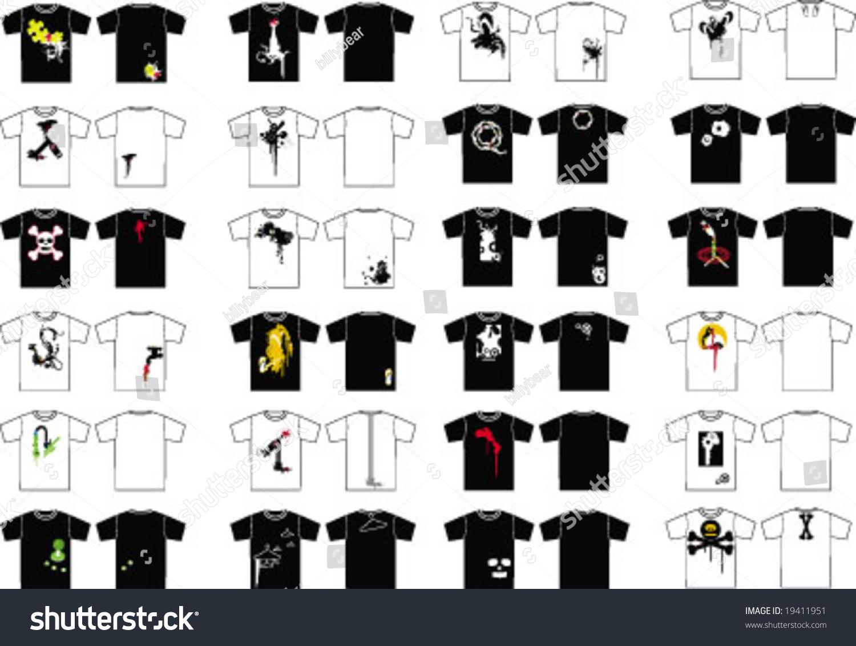 Shirt design elements - T Shirt Design Elements