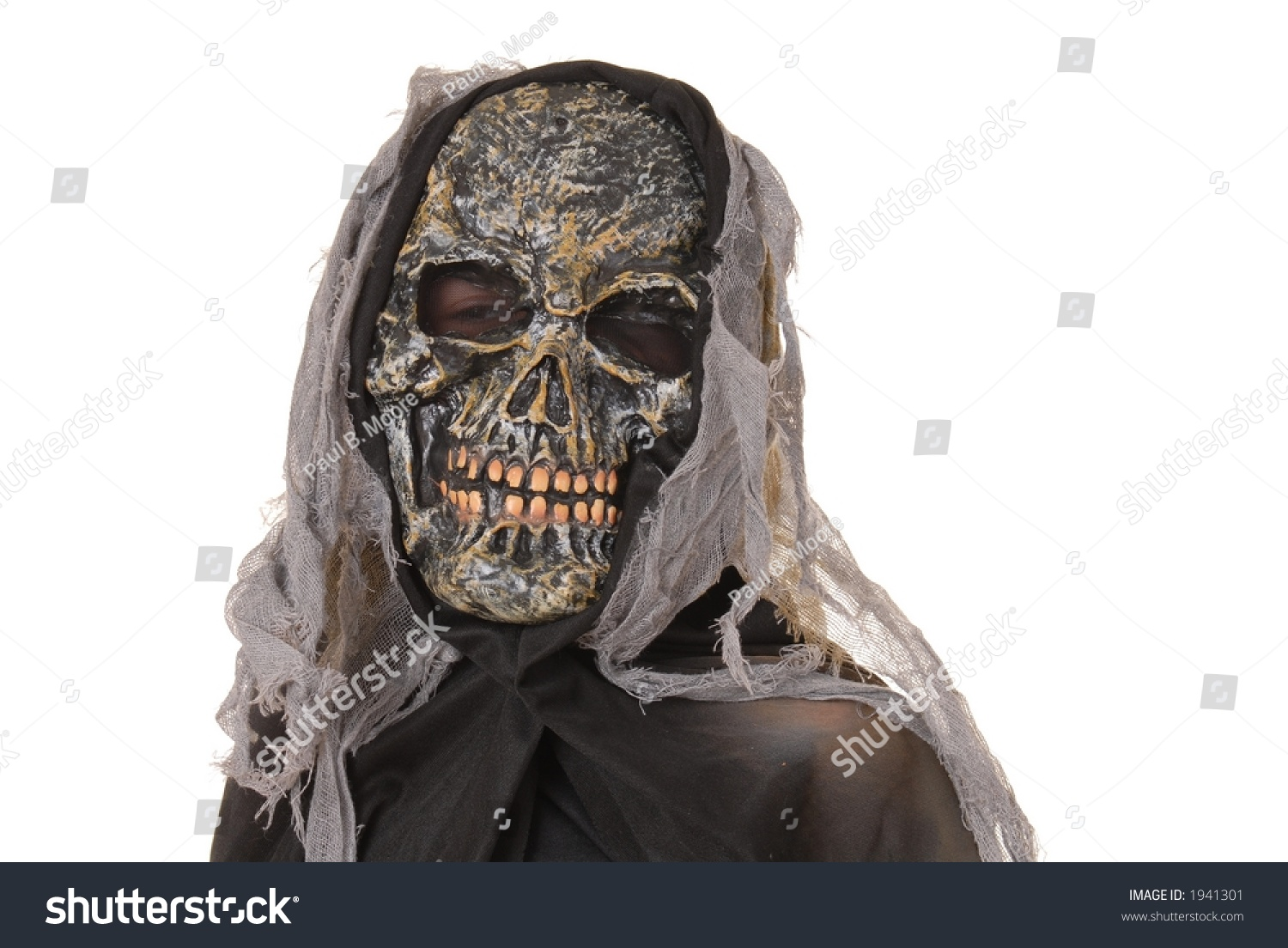 Young Boy Ghoul Halloween Costume Stock Photo 1941301 - Shutterstock