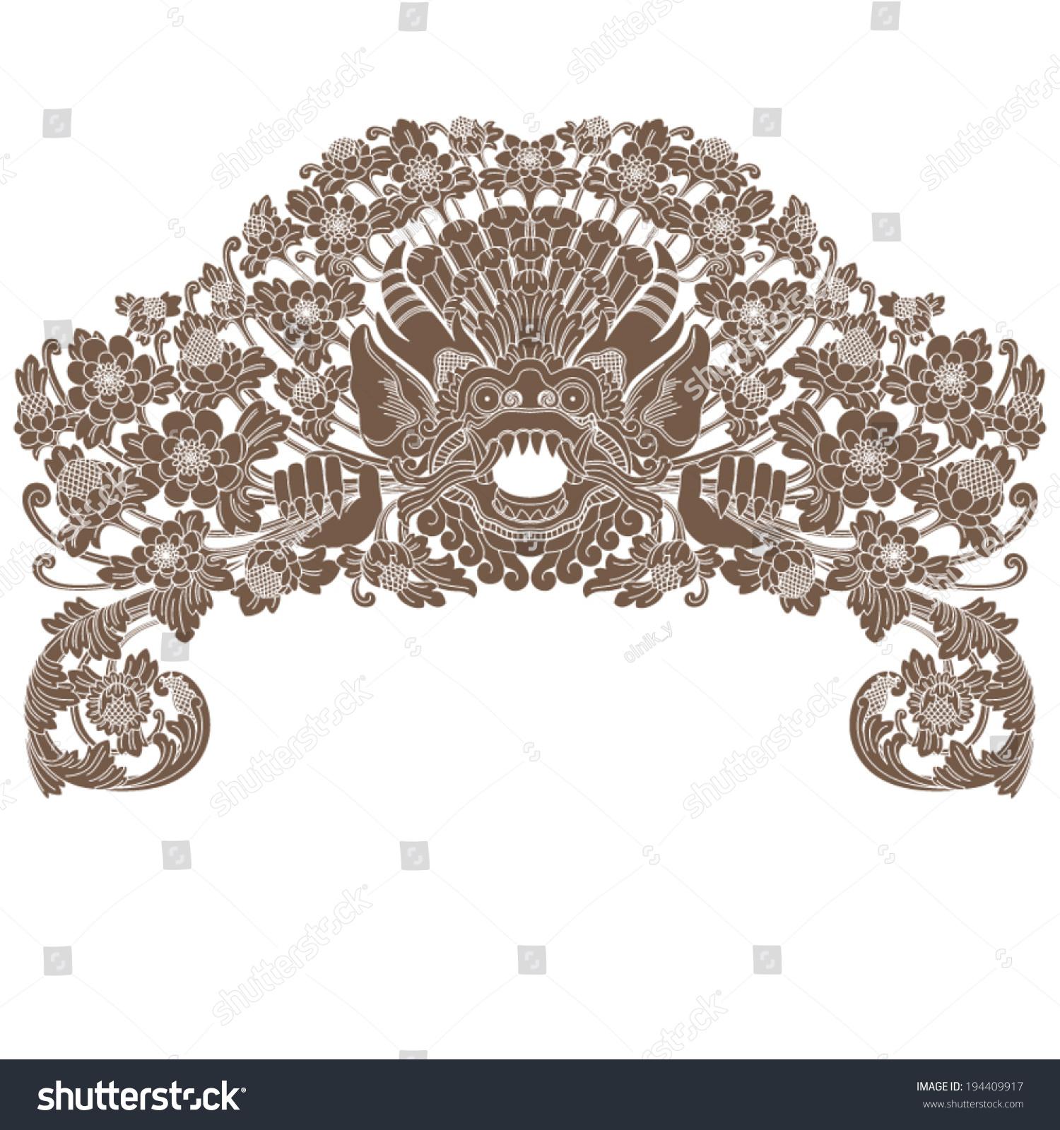 mythological god ornament stock vector royalty free 194409917 https www shutterstock com image vector mythological god ornament 194409917