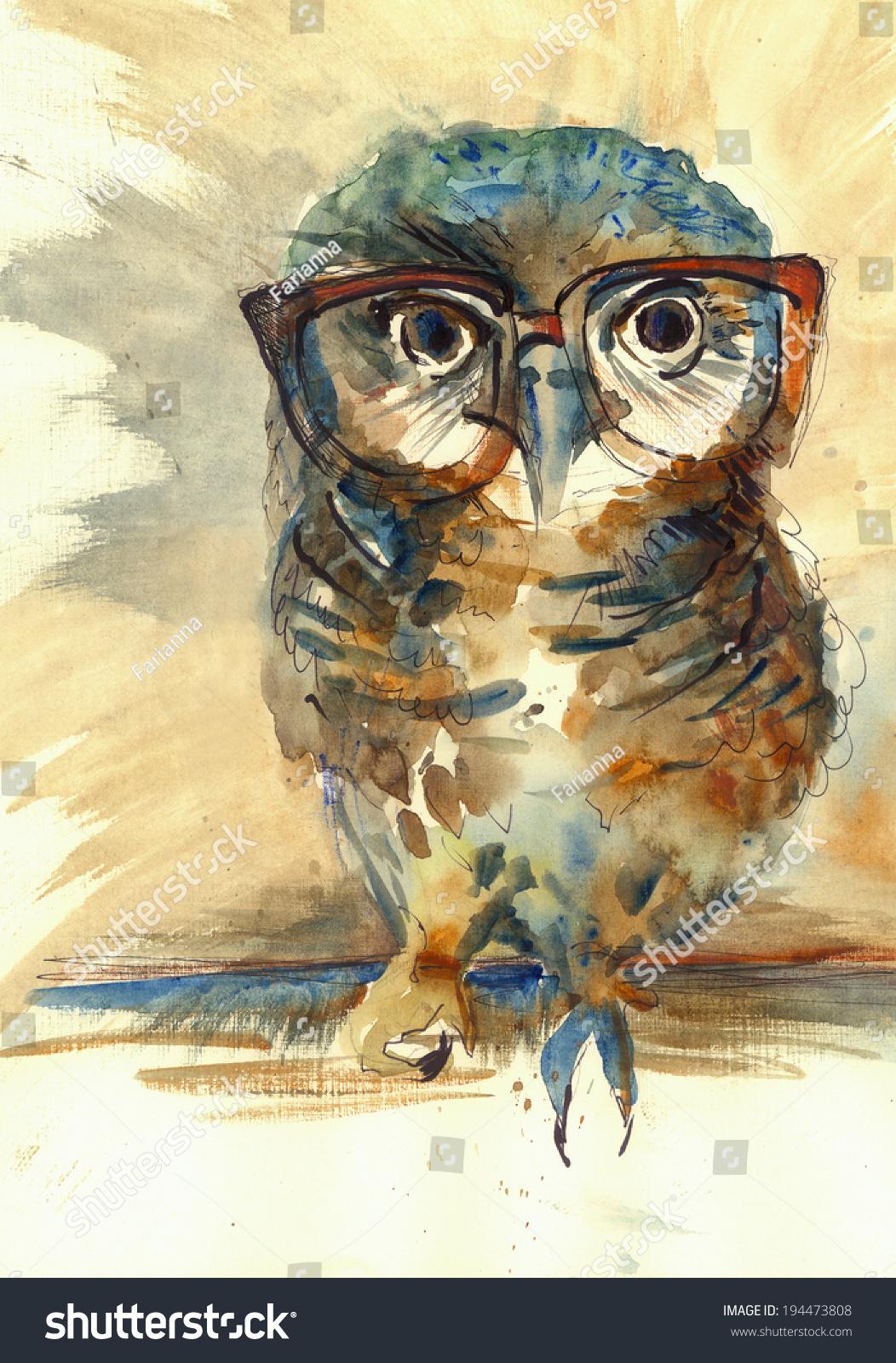 Wise Owl Big Eyes Hips...