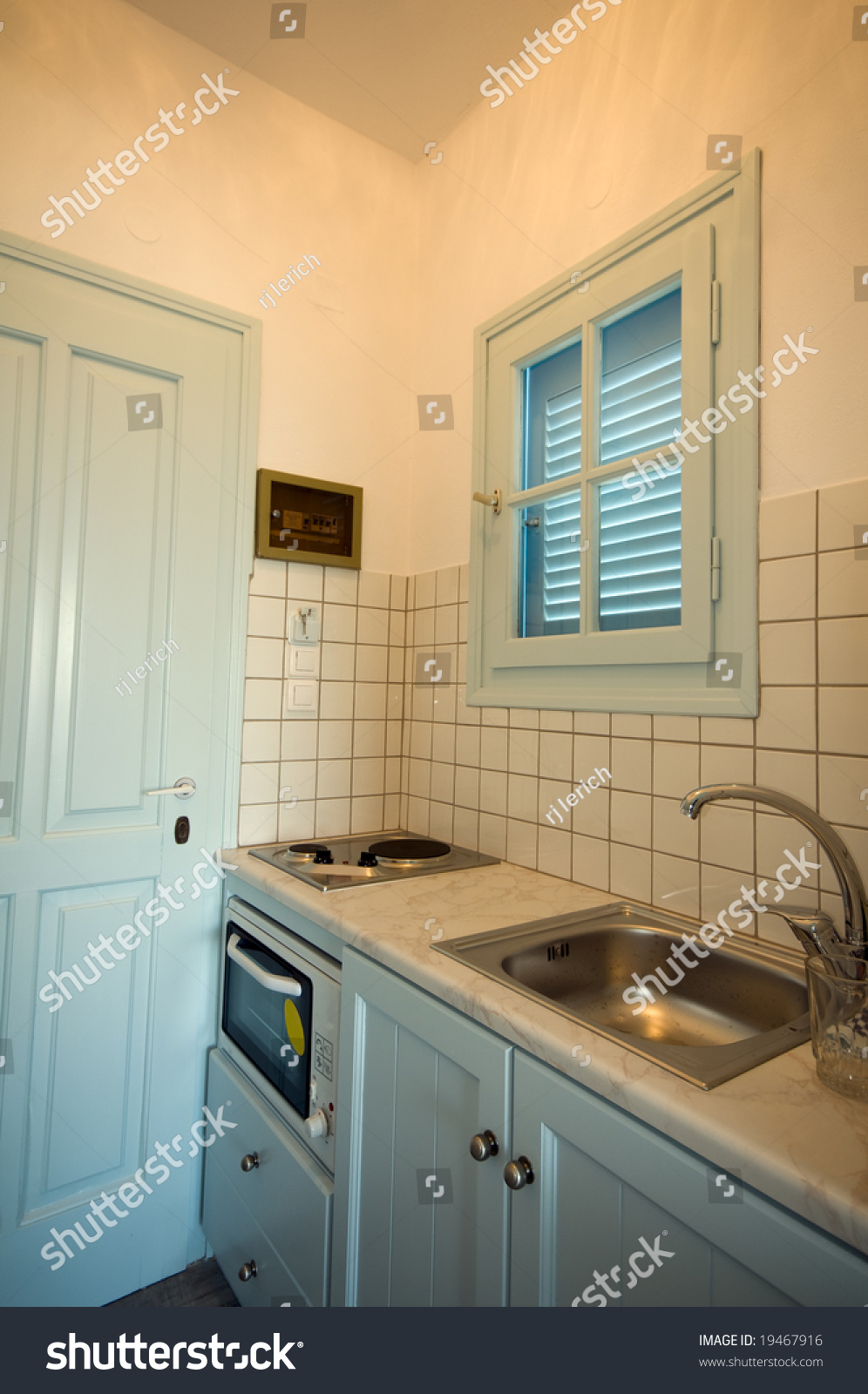 Efficiency Kitchen Typical Small Compact Kitchen In Apartment Efficiency Motel With