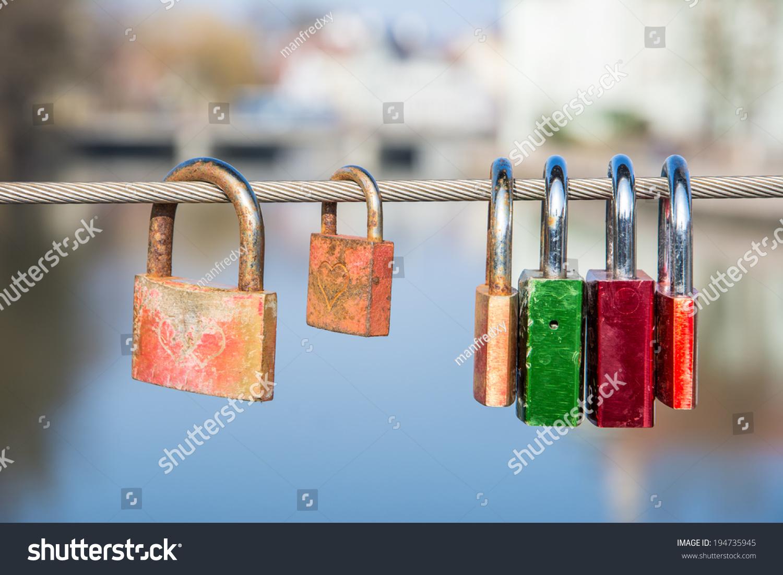 Love locks symbol everlasting love stock photo 194735945 love locks as symbol for everlasting love biocorpaavc