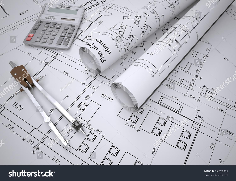 London Uk August 2017 Detail View Of Architectural And Drawings Diagram Structural Construction Landscape Format Ez Canvas