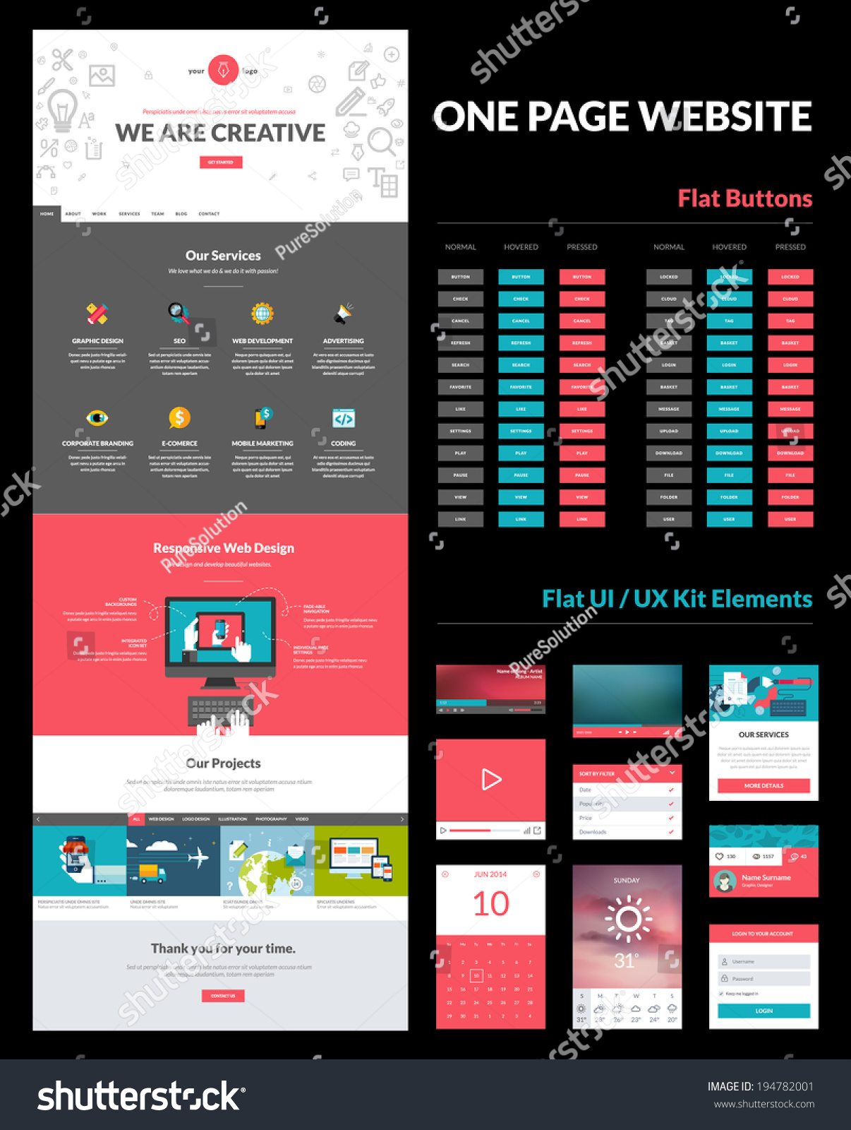 Cute 2 Page Resume Template Word Small 2014 Sample Resume Templates Solid 2015 Calendar Template 2015 Printable Calendar Template Young 3d Character Modeler Resume Dark3d Powerpoint Presentation Templates One Page Website Design Template All Stock Vector 194782001 ..