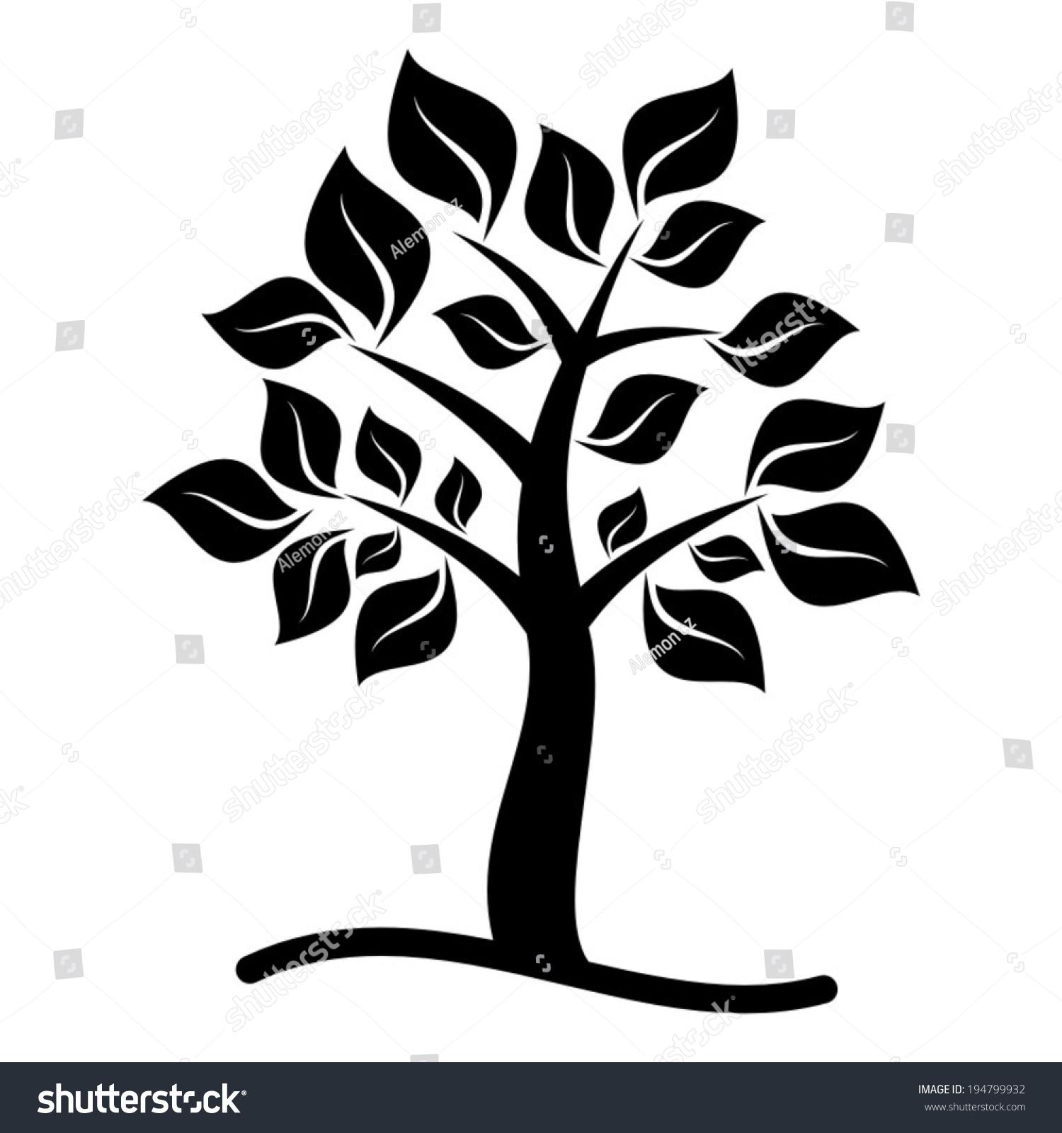 Tree Icon Black | www.imgkid.com - The Image Kid Has It!
