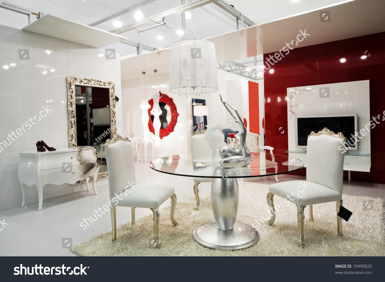Beautiful And Modern Furniture In Furniture Store Stock Photo 19490029 Shutterstock