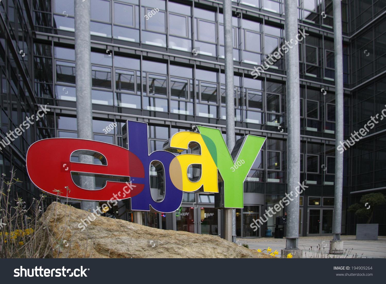 Circa April 2008 Kleinmachnow Ebay Logo Stock Photo Edit Now 194909264