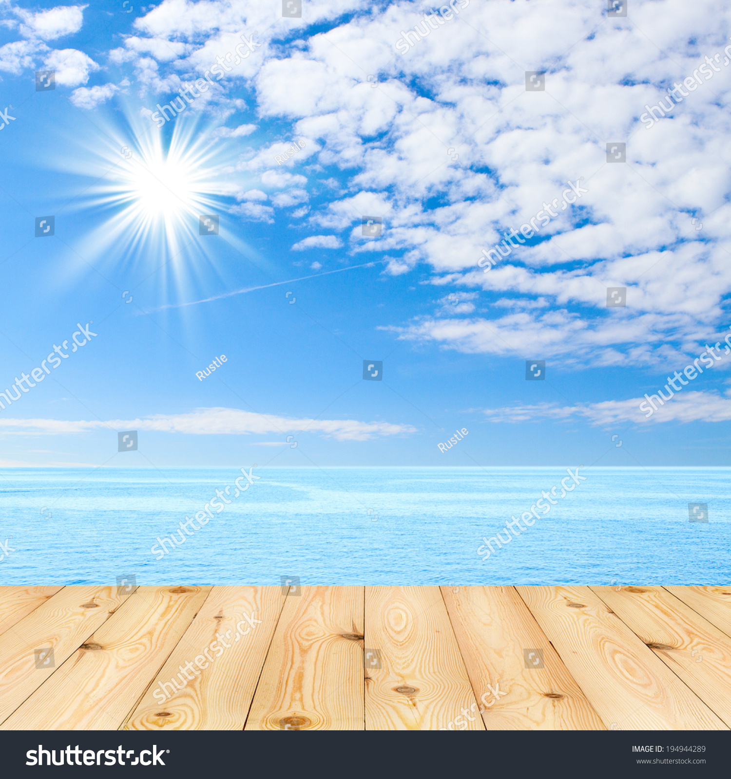 Blue tablecloth background - Wood Texture Background Blue Sea And Clouds On Sky Beach And Tropical Sea