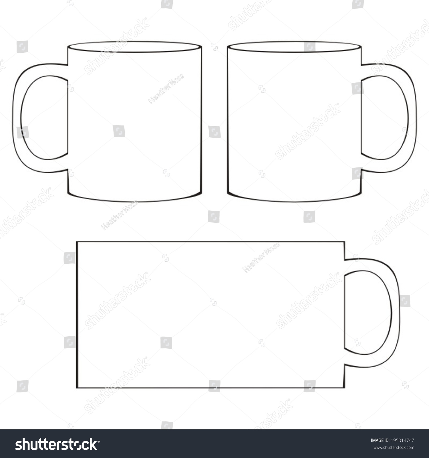 pin teacoffee cup template on pinterest. Black Bedroom Furniture Sets. Home Design Ideas