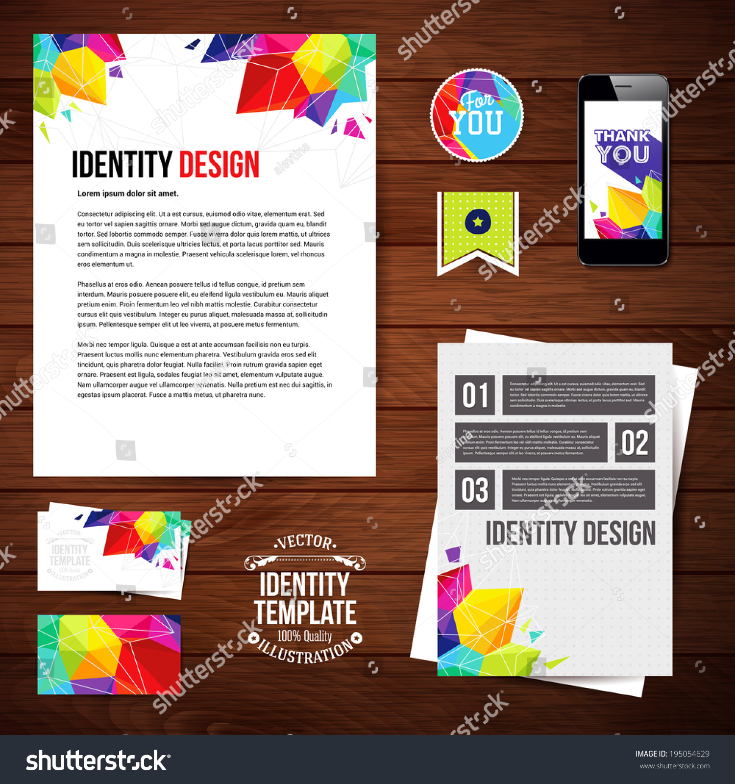 Business cards while you wait image collections free business cards sticker business cards images free business cards identity design your business geometric style stock vector identity magicingreecefo Gallery
