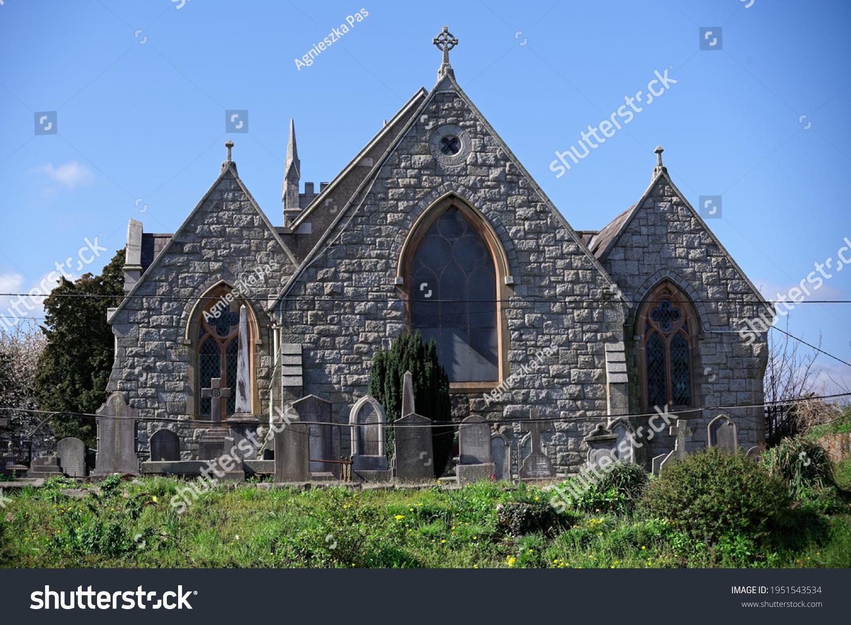 stock-photo-old-renovated-church-buildin