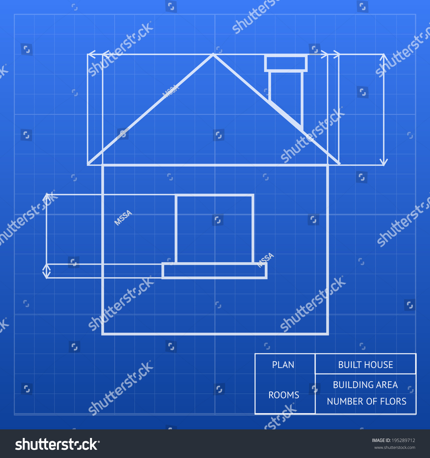 Worksheet architectural measurements worksheet fun for Blueprint of a house with measurements