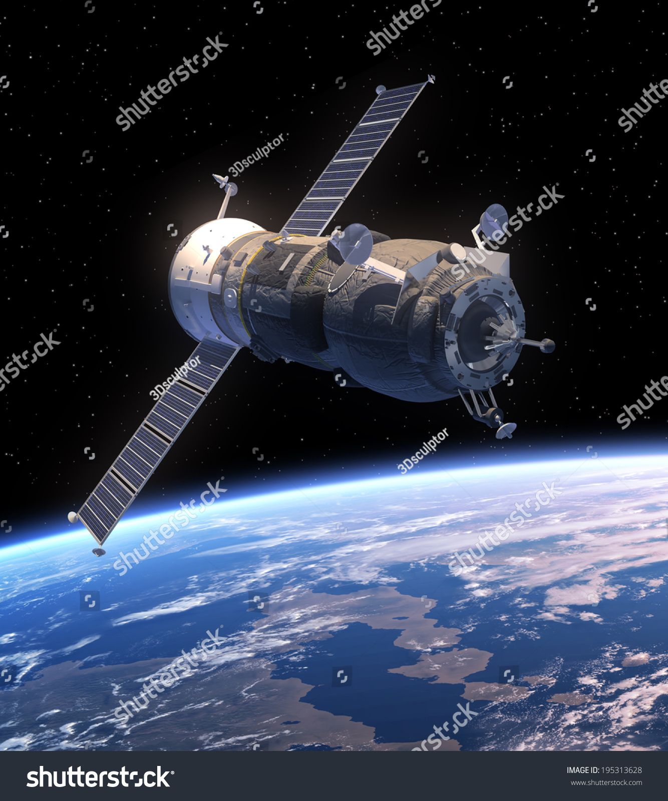 unknown spacecraft orbiting earth - photo #24