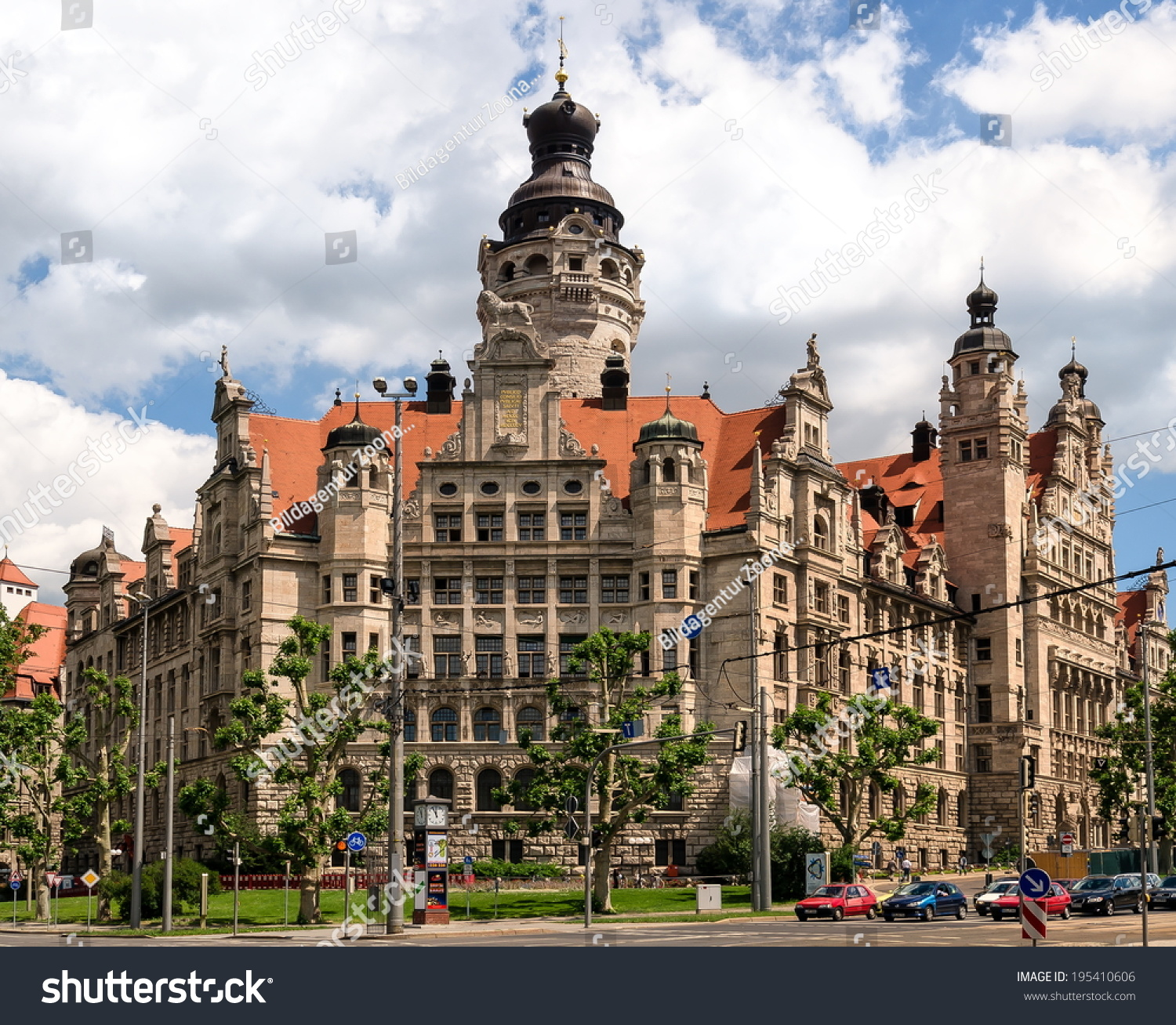 New Town Hall Leipzig Germany Stock Photo Edit Now 195410606