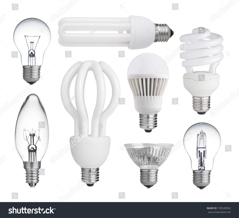 Set Incandescent Halogen pact Fluorescent Led Stock