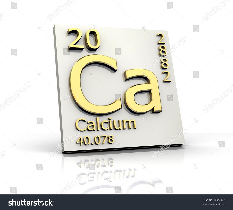 Calcium form periodic table elements stock illustration 19558240 calcium form periodic table of elements gamestrikefo Images