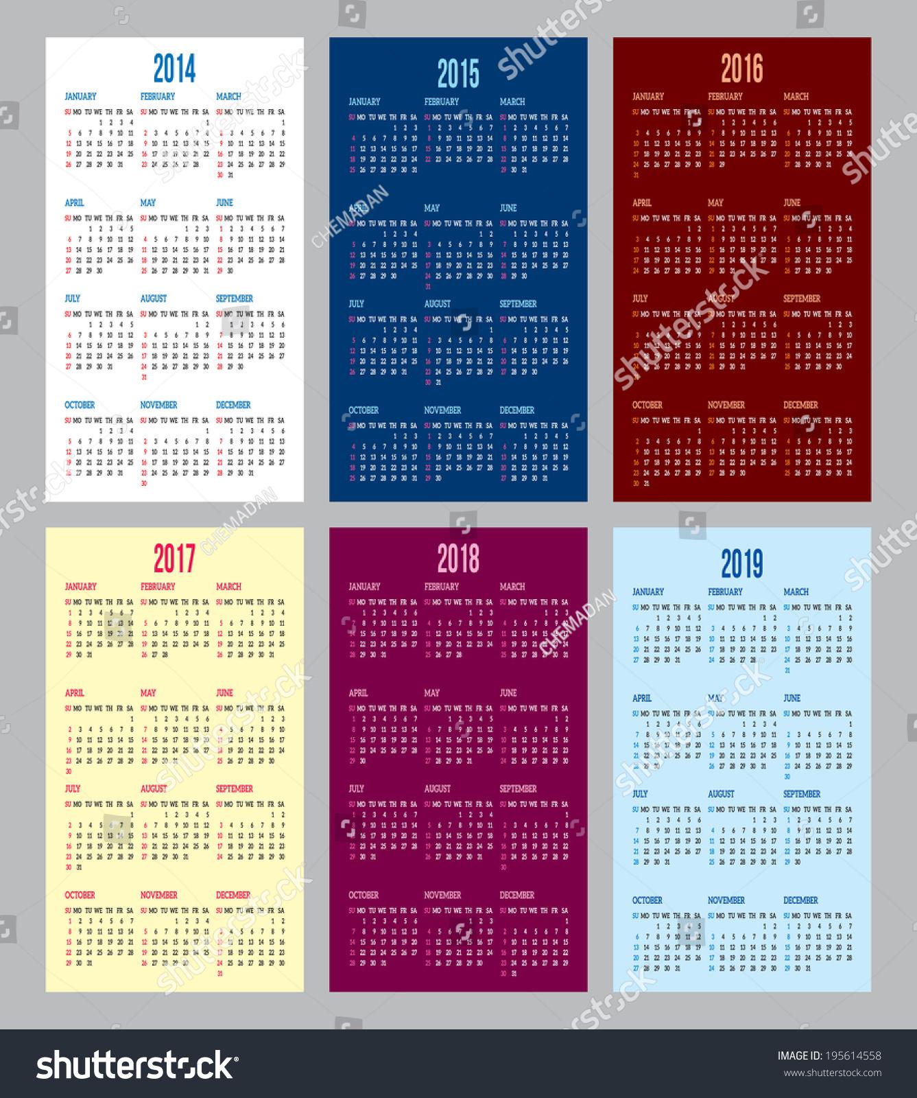 Программа календарь 2017-2018