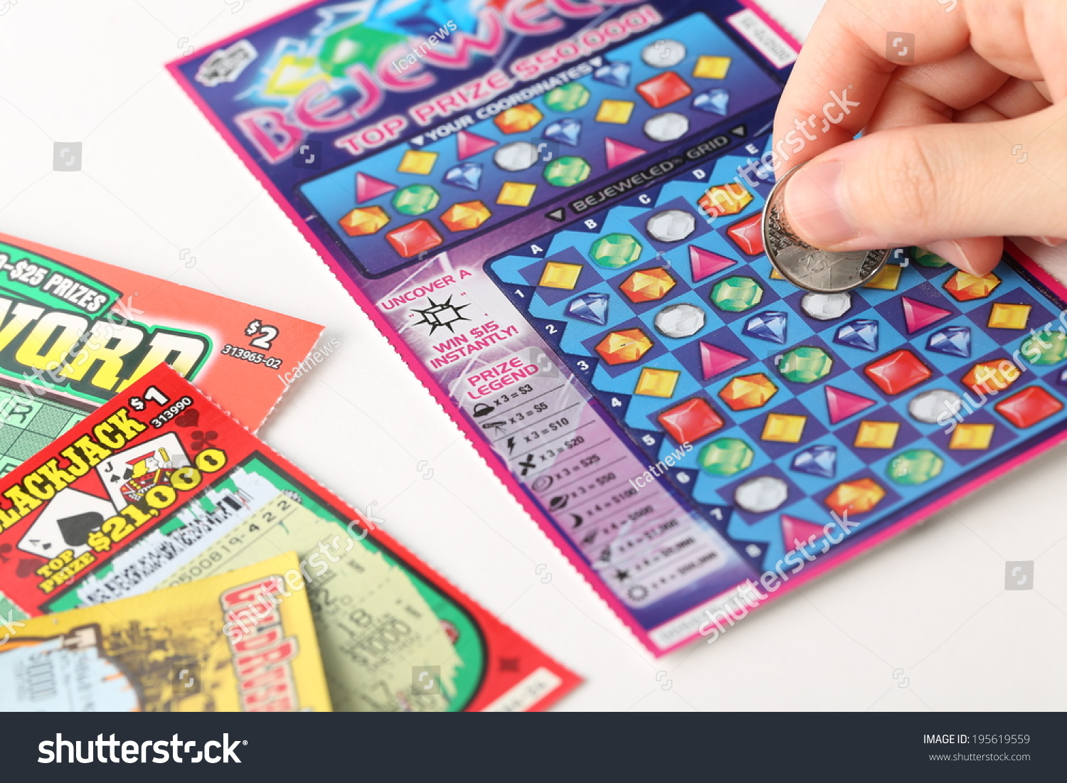 Coquitlam (BC) Canada  city photo : Coquitlam BC Canada May 25, 2014 : Scratching lottery tickets. The ...