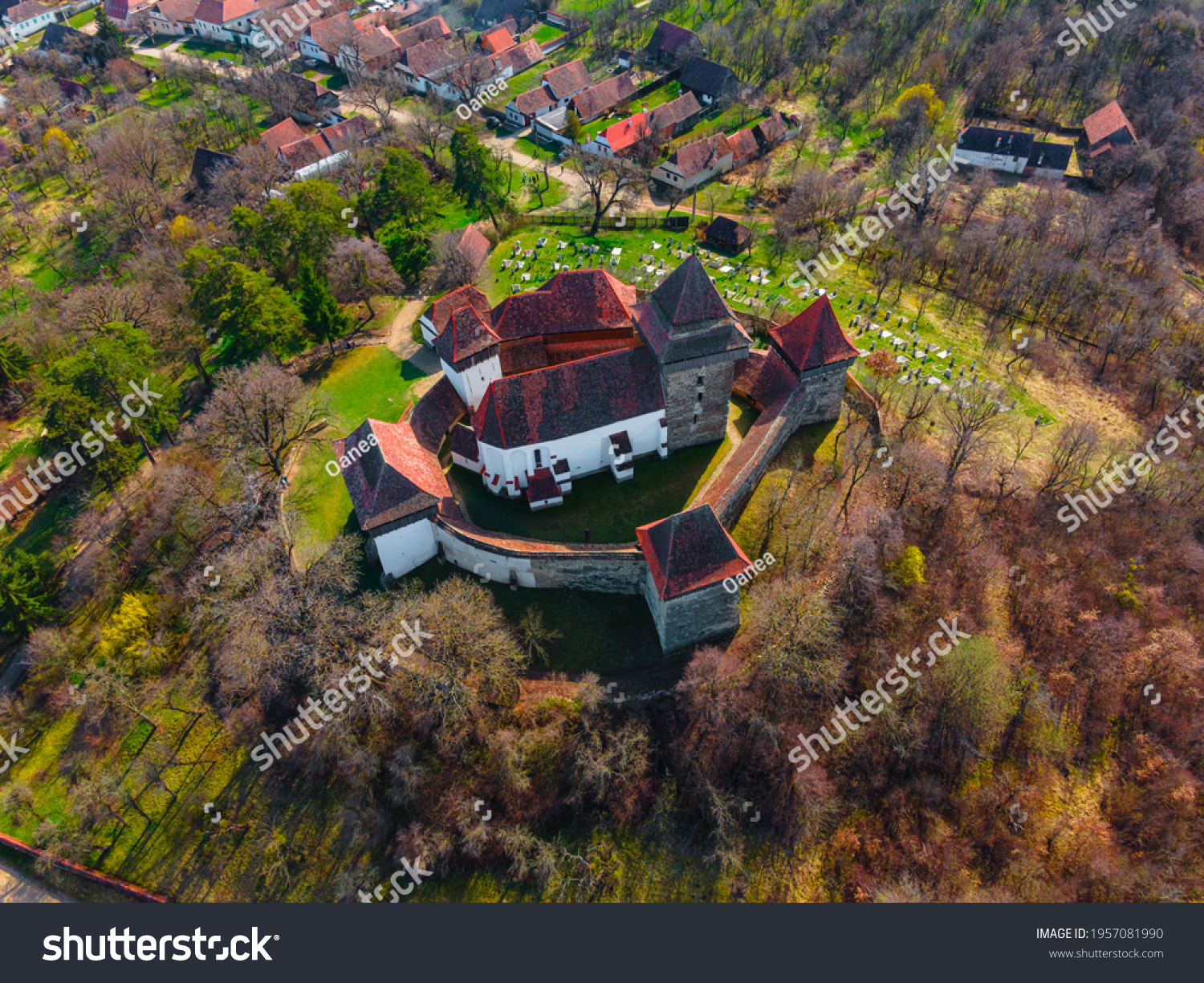 stock-photo-aerial-view-of-medieval-fort