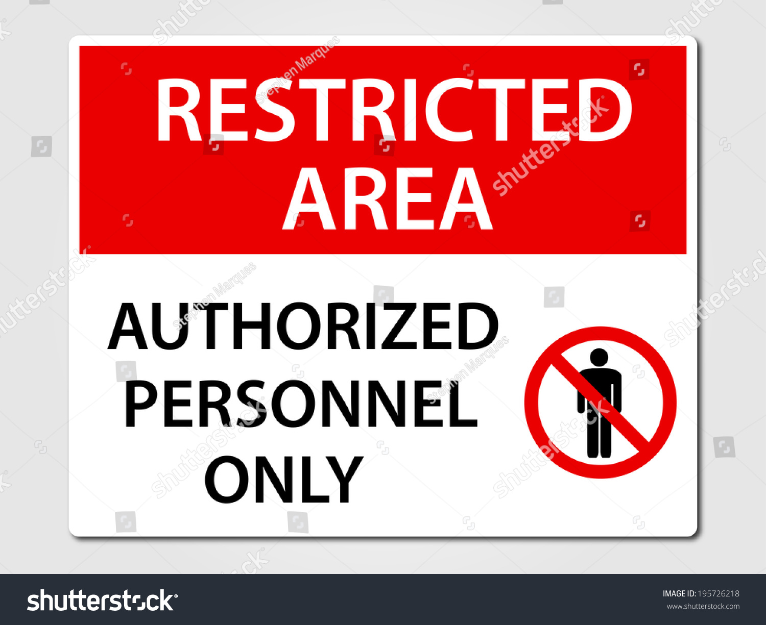 Authorized personnel only security sign stock vector for Zona 5 mobilia no club download