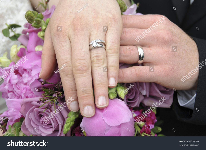 Bride Groom Show Off Their Wedding Stock Photo (Edit Now)- Shutterstock