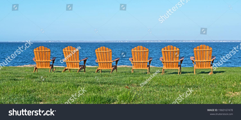 stock-photo-six-adirondack-style-chairs-