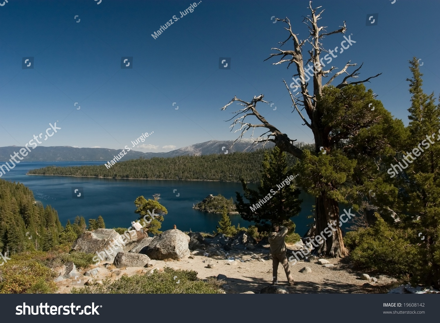 Lake Tahoe (NV) United States  City pictures : freshwater lake in the Sierra Nevada mountains of the United States ...