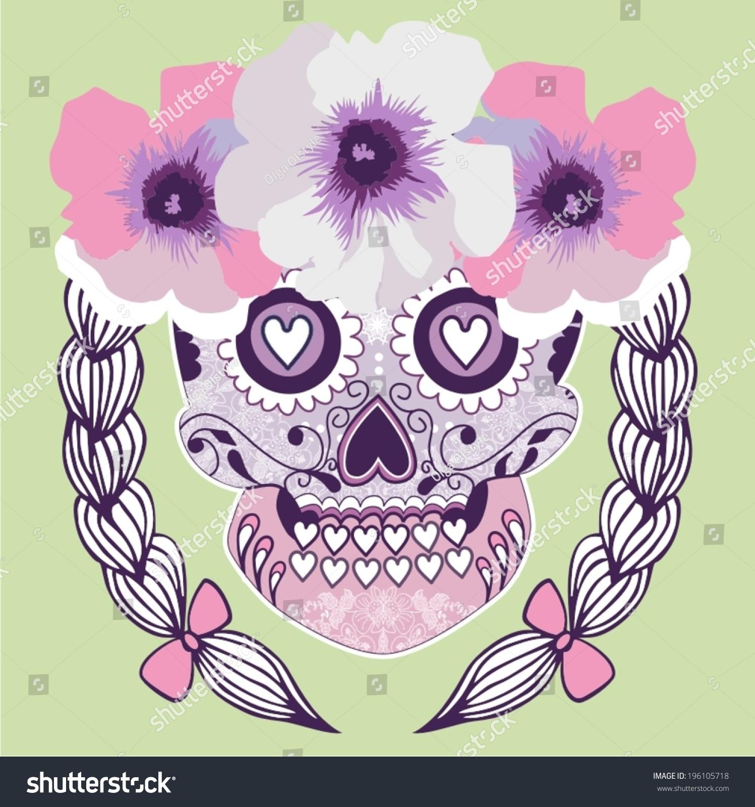 Sugar Skull Design Template Gallery - Template Design Ideas
