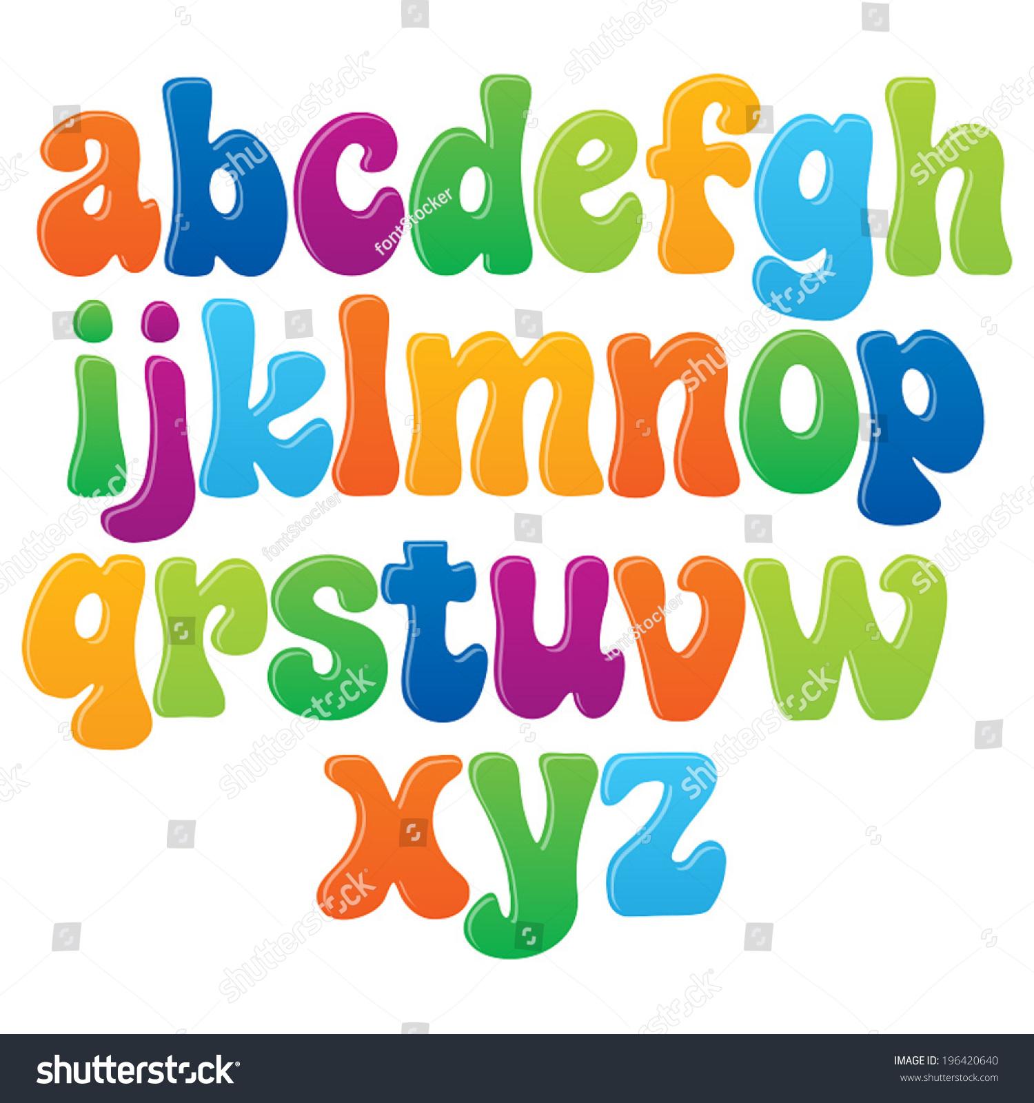 Style Of Writing English Alphabets
