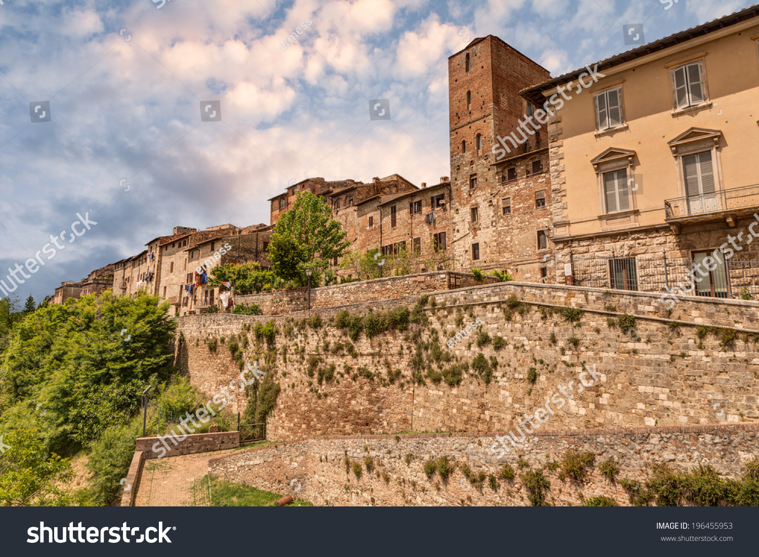 Colle Val D'Elsa Italy  city images : Colle di Val d'Elsa, Siena, Tuscany, Italy. View of the medieval town ...