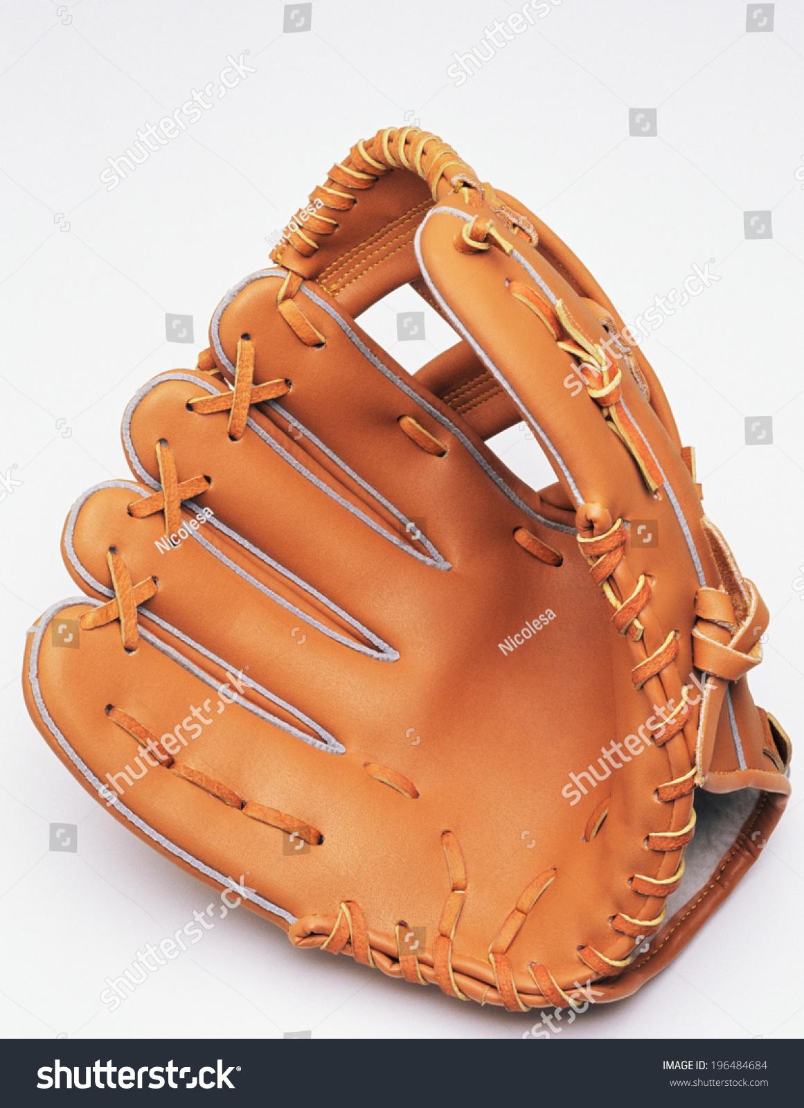 leather baseball glove #196484684