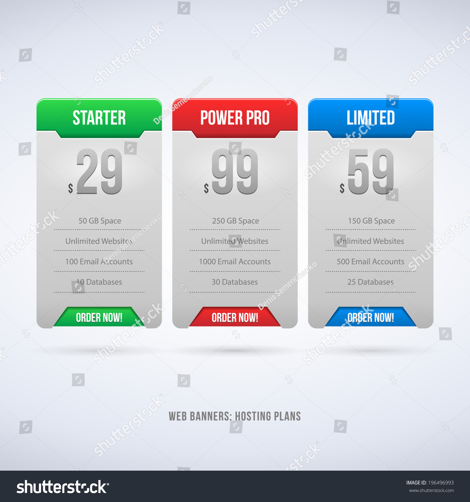Design a banner for your website - Perfect Web Boxes Hosting Plans For Your Website Design Blue Banner Order Button